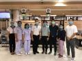คณะผู้บริหารบริษัท PN Smart Product Co., Ltd. นำทีมเข้ามอบบริจาคฉากกั้น Shield Wall ให้กับทางโรงพยาบาลบางพลี